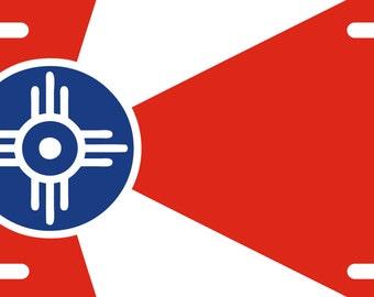 Wichita Kansas License Plate