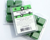 Apple Nuggets, Strongly scented paraffin wax melts, Apple scented tarts, green wax tarts
