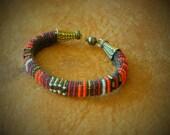 Red Warrior Bracelet, for Men and Women