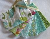 White Halle Rose Half Yard Fabric Bundle - Riley Blake - Lila Tueller