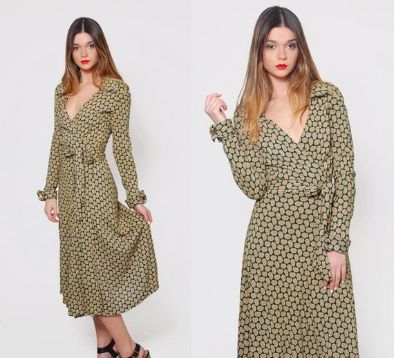 Vintage 70s DIANE Von FURSTENBERG Wrap Dress by LotusvintageNY