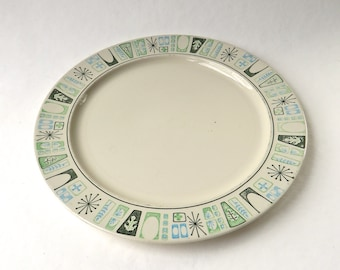 Mid Century vintage Taylor Smith and Taylor Taylorstone Cathay Round Serving Platter