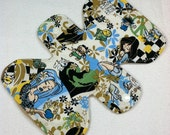 "Anime Ladies -  7.5"" inch - 2L- Reusable Cloth Pad"