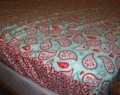Custom Listing for red91380 - Fitted Bed Sheet - custom size  - made to order - using your fabric - by Happy Campers of the South