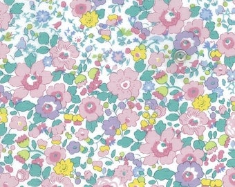 Liberty of london - special limited graduation print edition - betsy and martha -pink/blue - half a metre