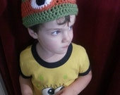 Teenage Mutant Ninja Turtle Beanie Hat - premie-adult sizes available.