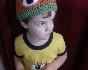 Teenage Mutant Ninja Turtle Beanie Hat - premie-adult sizes available.
