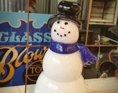 Blown Glass Frosty-the-Sn...