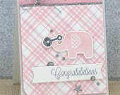 Congratulations - Handmade Card