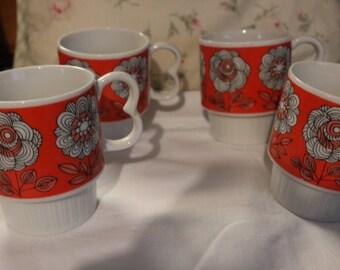 vintage Japanese cups