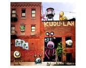 Brooklyn (8x8 Critter Art)