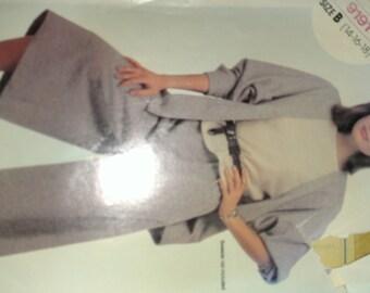 Cardigan Jacket Dolman Sleeve with Gaucho Culotte 14 16 18 McCalls 9191