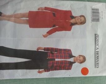 Jacket Slacks Skirt 12 14 16 Butterick 5083 Jessica Howard