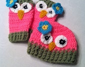 Baby Leg Warmers and Beanie Set
