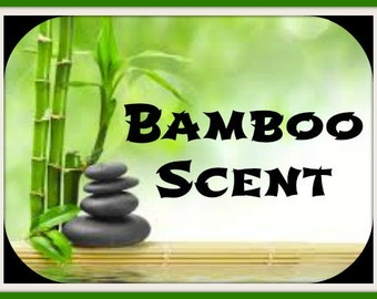 BAMBOO Scented Soy Wax Melts - Nature Scent Soy Tarts - Flameless Wickless Soy Candle - Handmade Melt - Hand Poured In USA - Maximum Scented