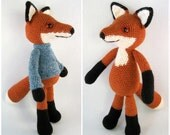 Bracken the Fox Amigurumi Pattern PDF