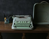 Vintage Hermes Typewriter 3000 Manual Portable Swiss Made From Nowvintage on Etsy