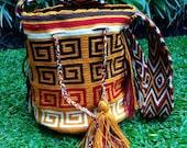 Mochila Wayuu - One of a Kind - Handmade - Tribal - Boho - Gypsy