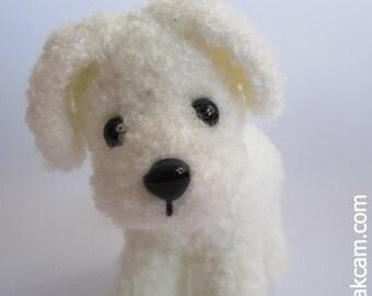 Amigurumi White Doggie