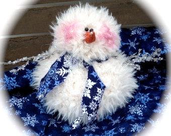 Fuzzy Wuzzy Snowman