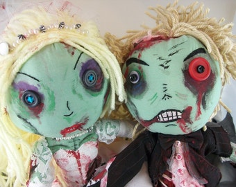 Till Death:  Zombie Bride & Groom