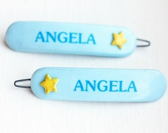 Vintage Hair Clips - Angela