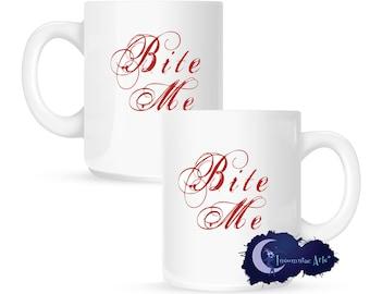 Bite Me 15 oz Coffee Mug