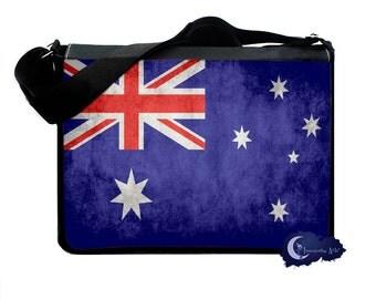 Flag of Australia -  Messenger and Laptop Computer Bag