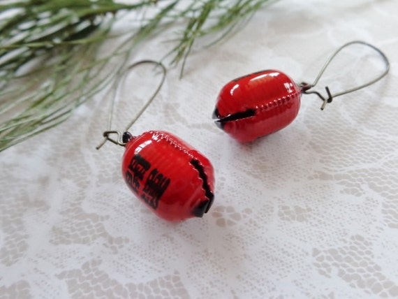 Red Chinese New Year Earrings