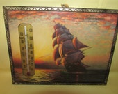 Vintage Oak Hill Cheese Factory Edgar Wisconsin  Advertising Thermometer