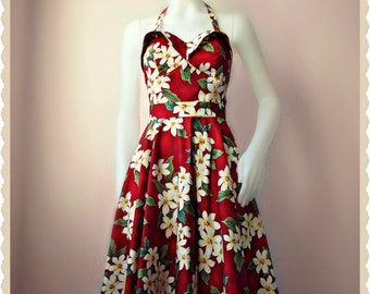 Swell Dame 1950s bustier sun top and circle skirt Made To Order in your measuremments
