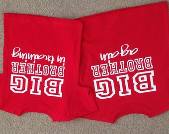 Set Of 2 Big Brother Shirts Again And In Training Also Available For Sister