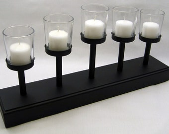 Votive candle set, 5 candles