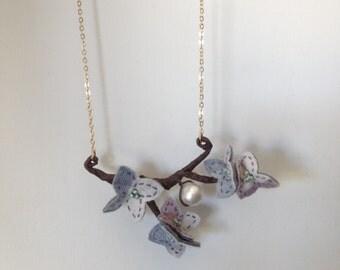Sprig Floweret Necklace (BSR5)