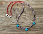 Nautical Beaded Necklace