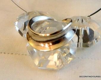 Modernist Bisgaard Denmark Sterling Silver Ring Size 10 Designer Signed