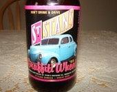 St. Stan's Graffiti Wheat 1995 Beer Bottle St. Stan's Brewing Medesto American Graffiti