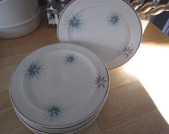 Easterling Bavarian Celestial Starburst Plates