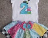 Wonder about Alice Shirt and Skirt Set