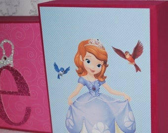Sofia the First Personalized Blocks . Large size