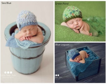 Knitted Beanie Baby Girl Photo Prop Bracelet Set Boy Ready Ship Cap Shower Gift Newborn Handknit Going Home Hat Coming Hand Knit Spring