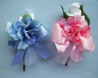 Baby Sock Corsage, Baby Shower Corsage