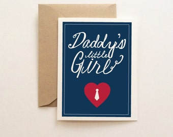 Father's Day Card - Daddy's Little Girl
