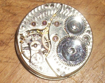 Lady Franklin Pocket Watch Collectible Parts