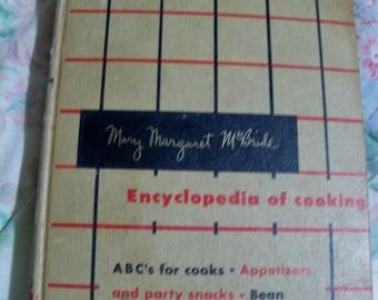 MARY Margaret McBride volume 1 cook BOOK