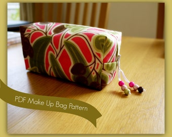 PDF Make Up Bag Sewing Guide