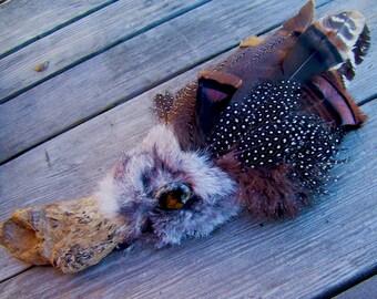 Handmade Native American Prayer Fan