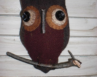 Wool Owl ornament