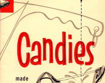 Candies Made with PET Evaporated Milk Nut Caramels Fudge Taffy Fondant Divinit Chocolate Penuche PralinesVintage 1960s Cooking Leaflet