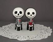 Skeleton Wedding Toppers